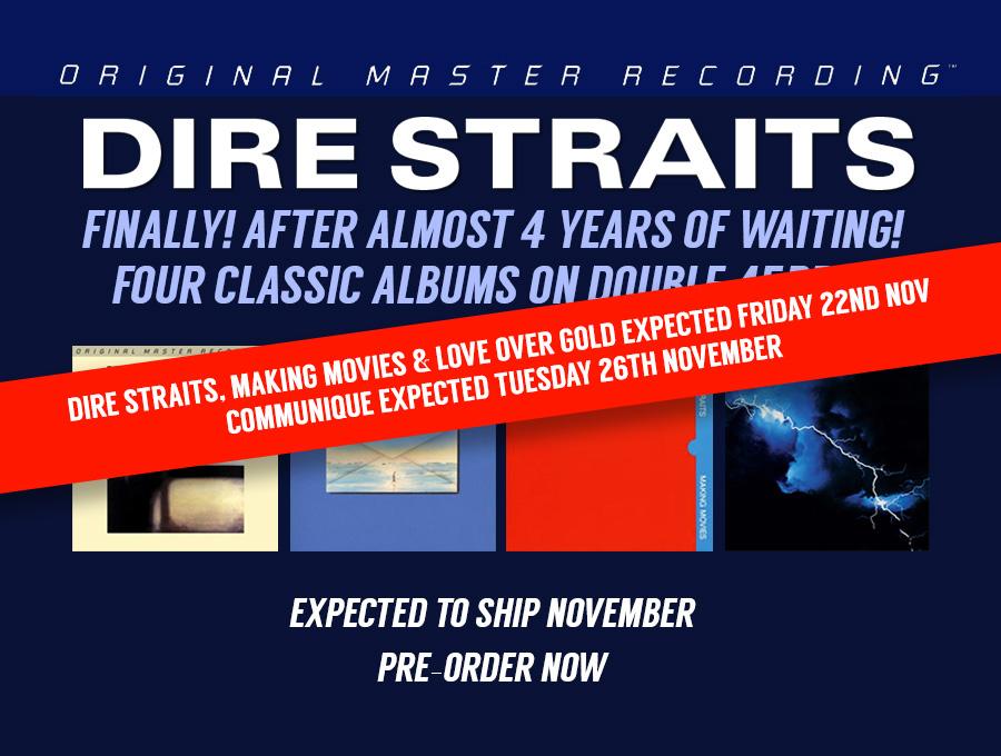 Dire Straits deliveries